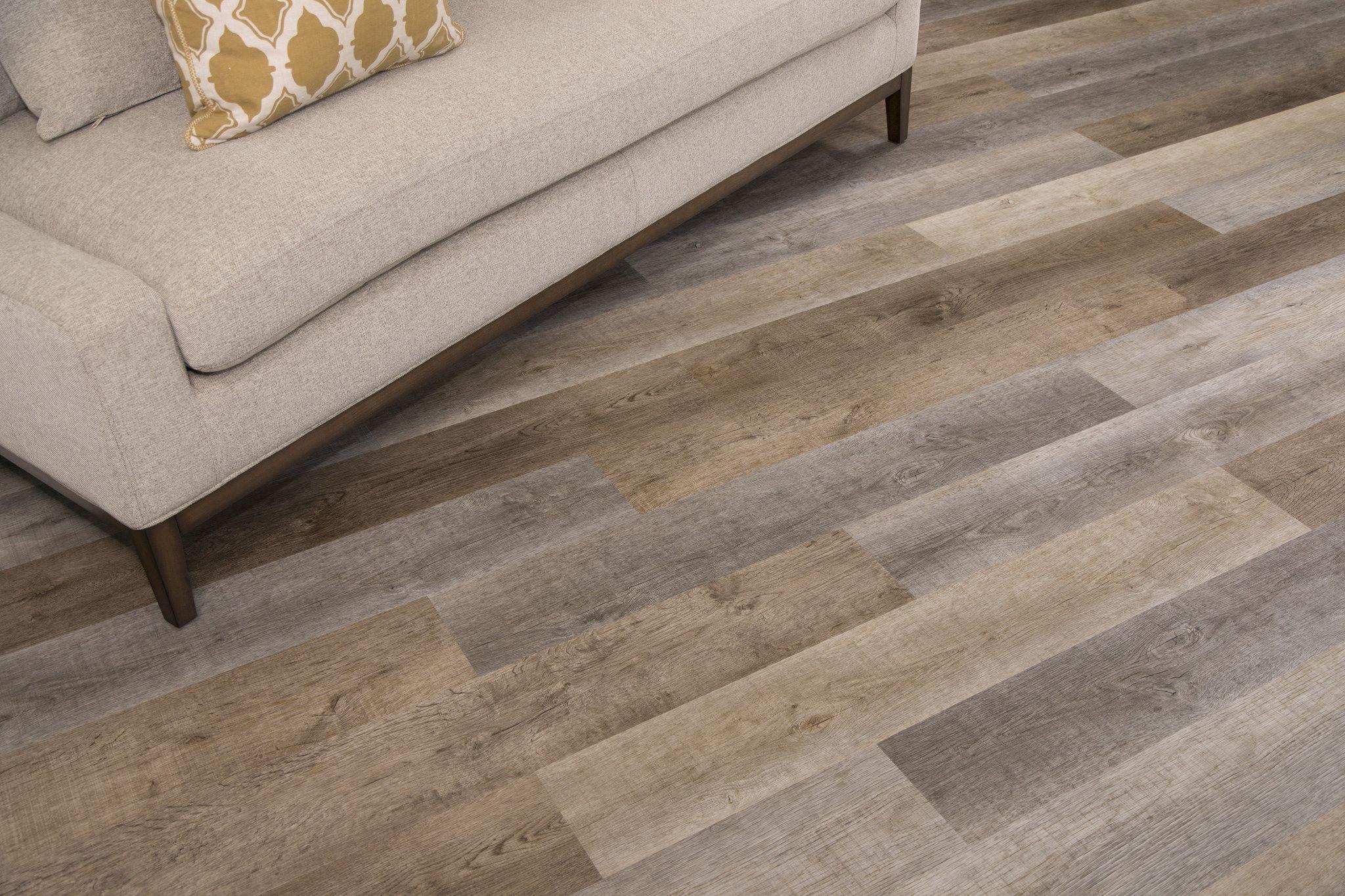 Gray Vinyl Plank Flooring Rapid Locking System Cali Vinyl Sample In 2019 Vinyl