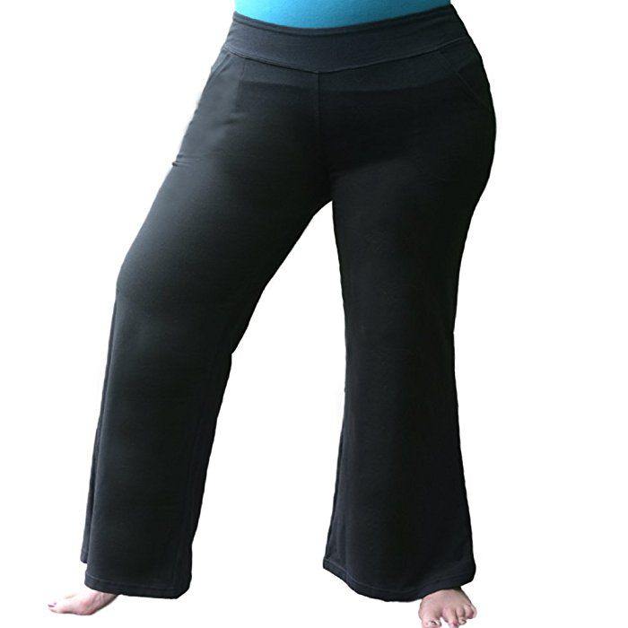 best plus pants ever!! women's plus size yoga pants. relaxed fit