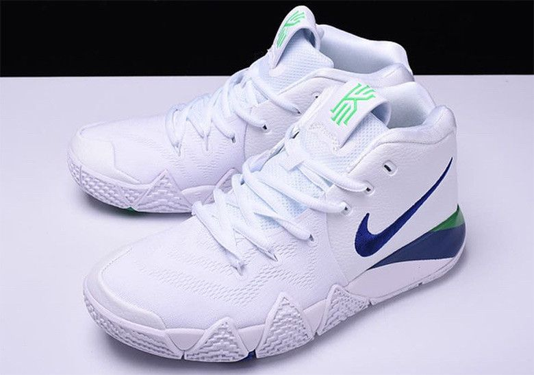 a2a6691d994f47 Nike Kyrie 4 Arriving Soon In Classic Seahawks Colors