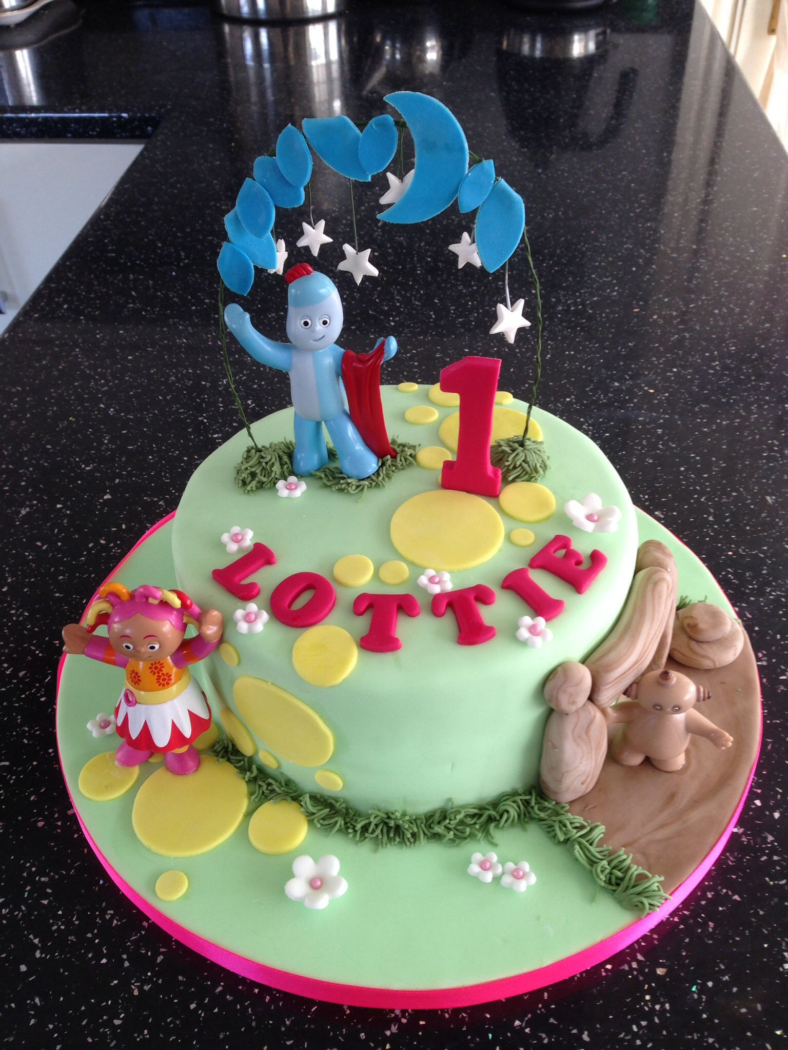 In the Night Garden cake. Iggle Piggle 1st Birthday Cake | Neva Cake ...