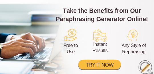 Online Rephrase Tool Paraphrase Scientific Articles Professional Paraphrasing