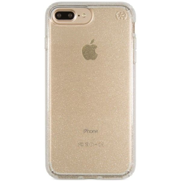 Iphone 8 Plus Gold Clear Case