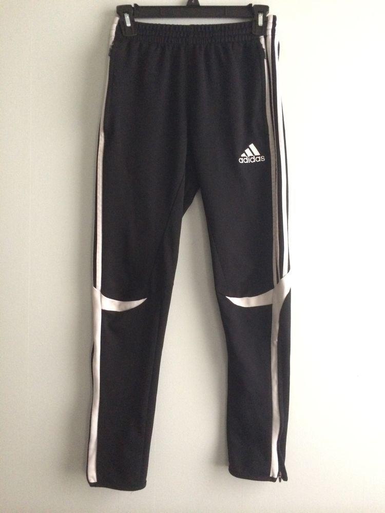Adidas Calcio ClimaCool SOCCER Training pant Black and White