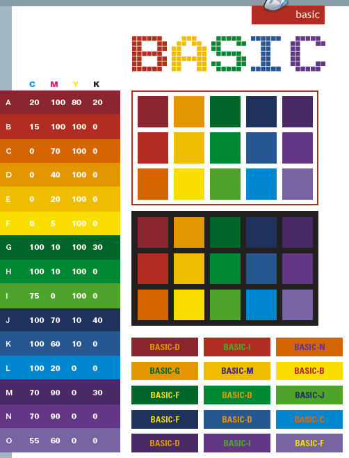 Best Web Design Color Palettes With Orange Background