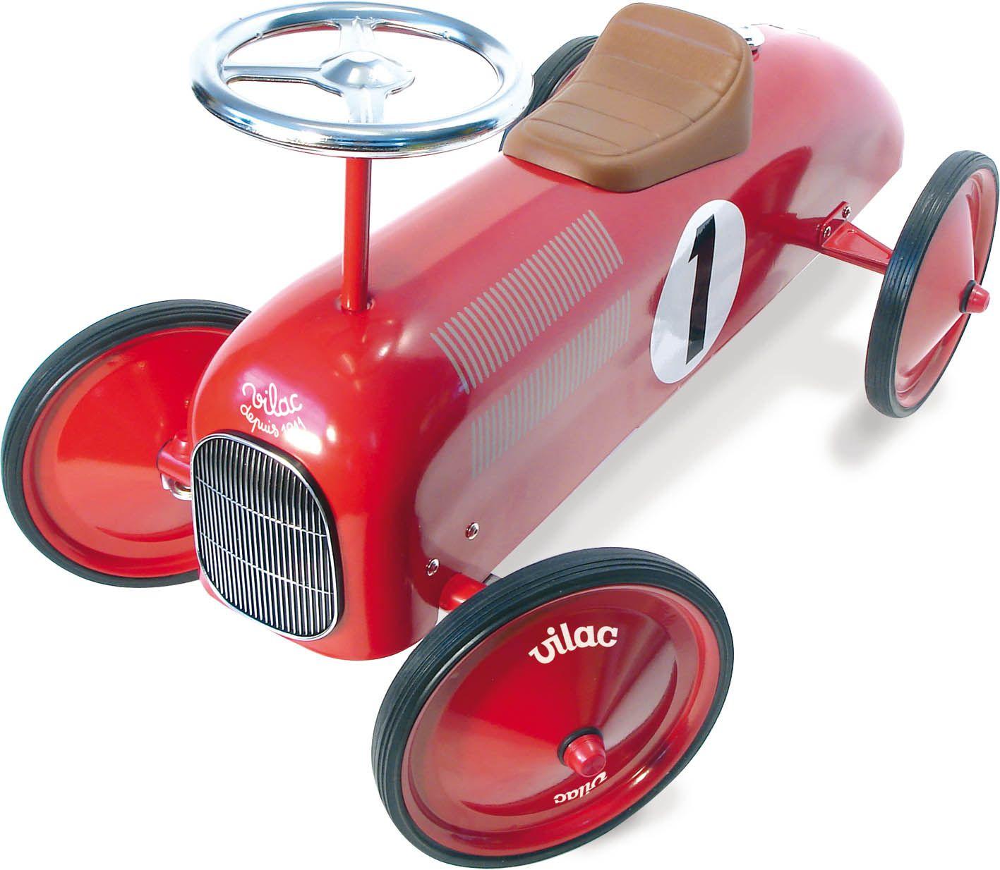 Osta Vilac - Punainen Kilpa-Auto (1049) - Motoriikkalelut - Coolshop