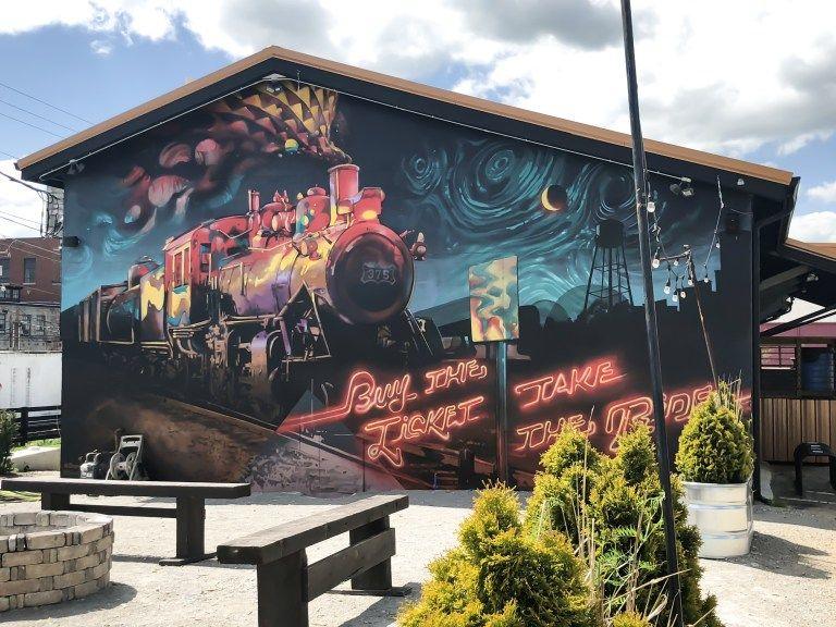 Street Art And Murals Of Lexington Kentucky Volume I Street Art Lexington Art