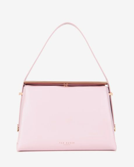 Mini Leather Tote Bag Baby Pink Bags Ted Baker Uk