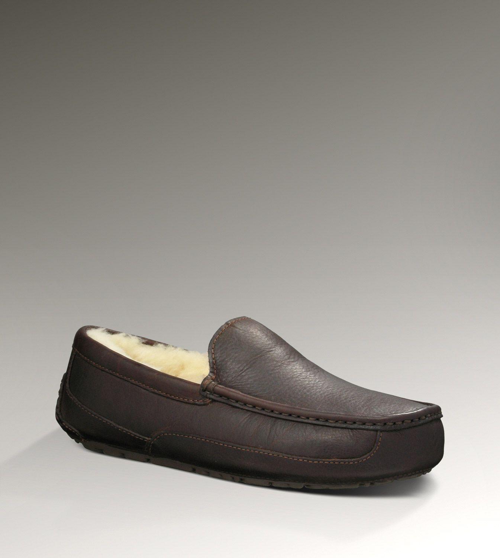 UGG® Ascot for Men | Cozy Sheepskin-Leather Outdoor Slippers for Men at UGGAustralia