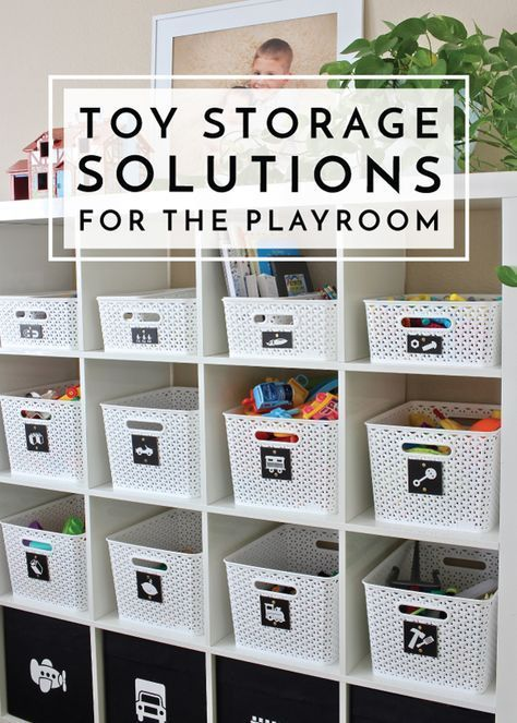 Toy Storage Solutions for the Playroom | The Homes I Have Made