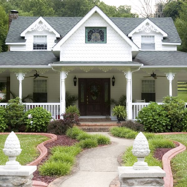 Small Porch Designs Can Have Massive Appeal: The 25+ Best Farmhouse Landscaping Ideas On Pinterest