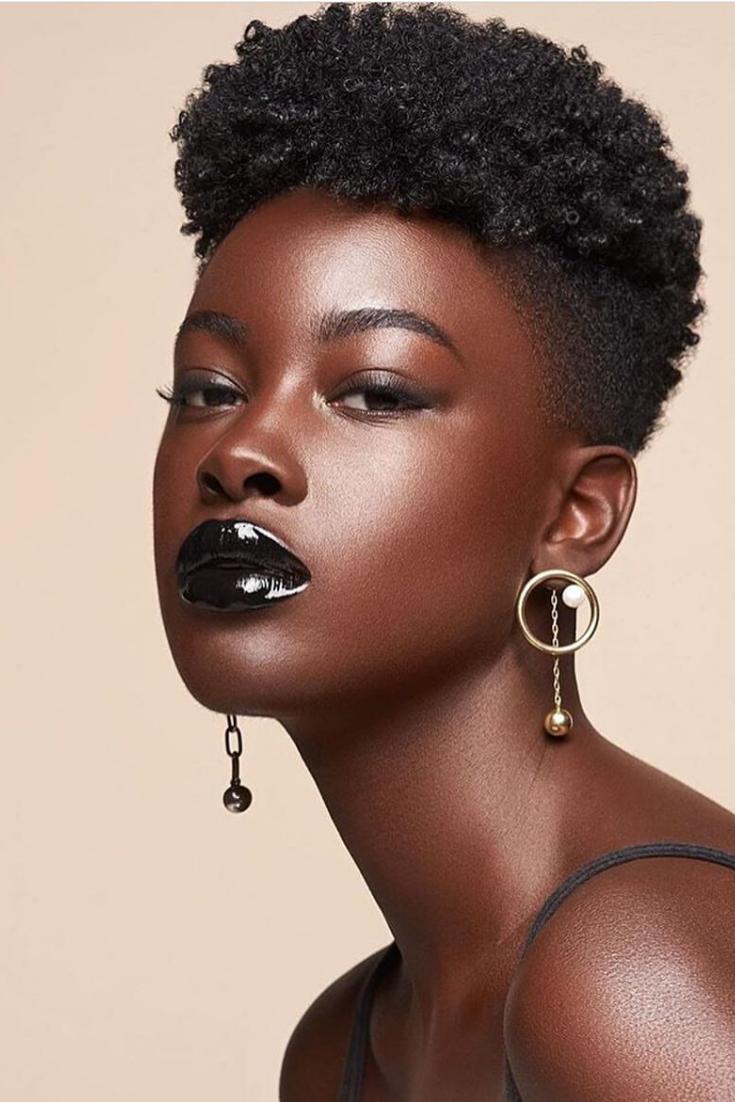 Epingle Sur Coupe Courte Afro