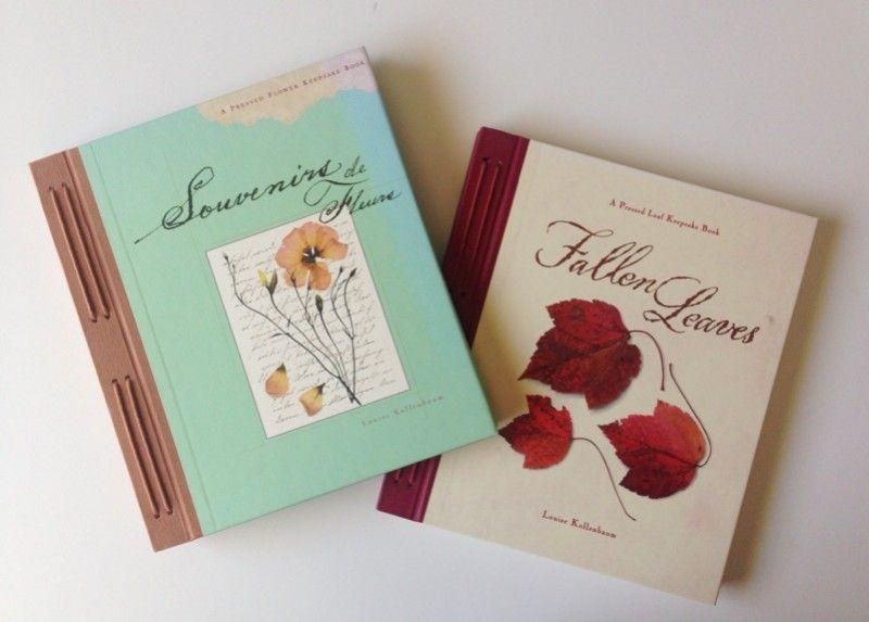 Cuadernos con flores secas Graficos Interesantes de jardineria - flores secas