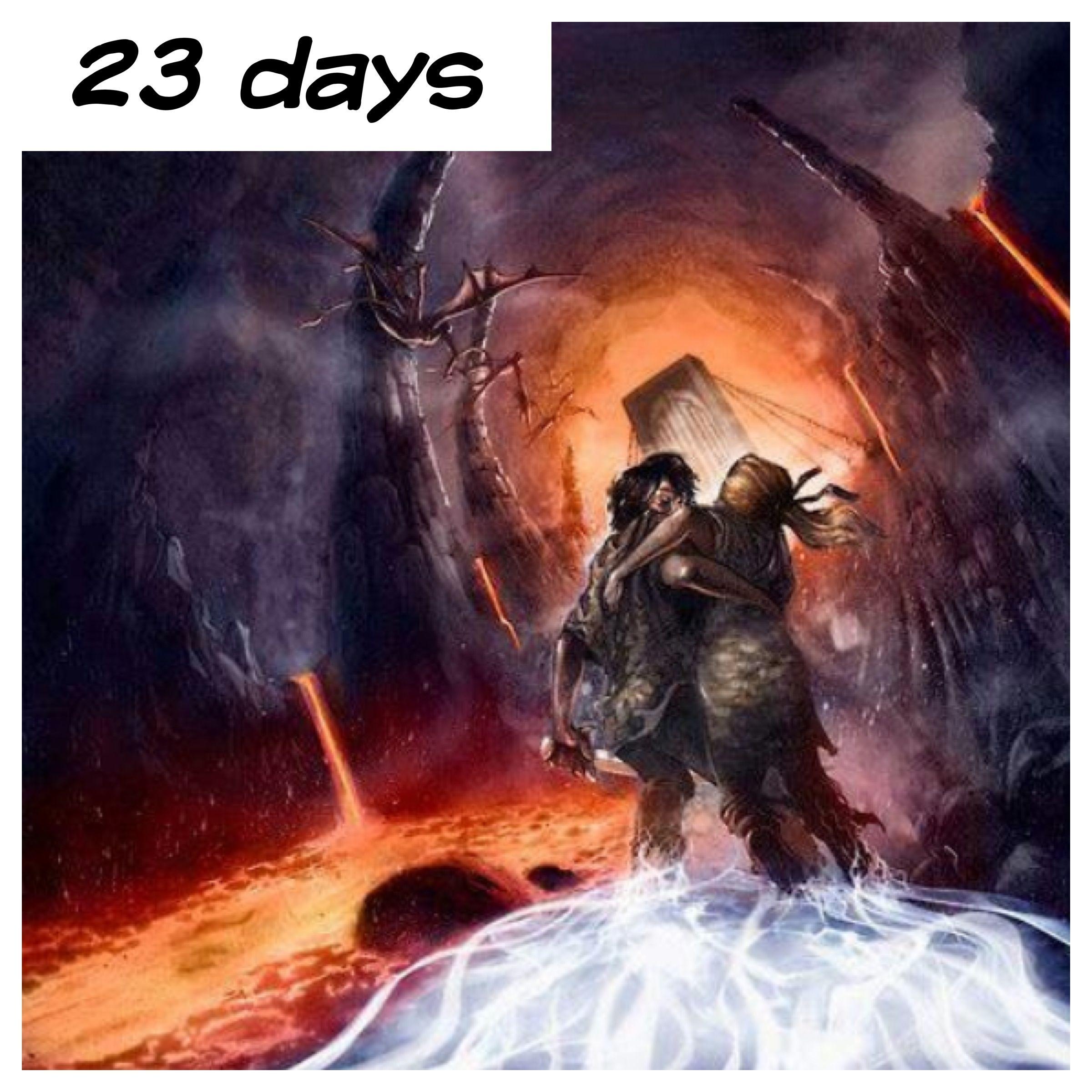 23 days it's sunday