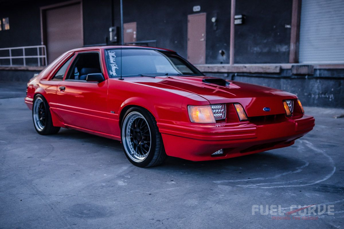 Fox Body Mustang Performance Parts >> 1985 Ford Mustang Svo Turbo Fuel Curve Mustang Mustang Svo