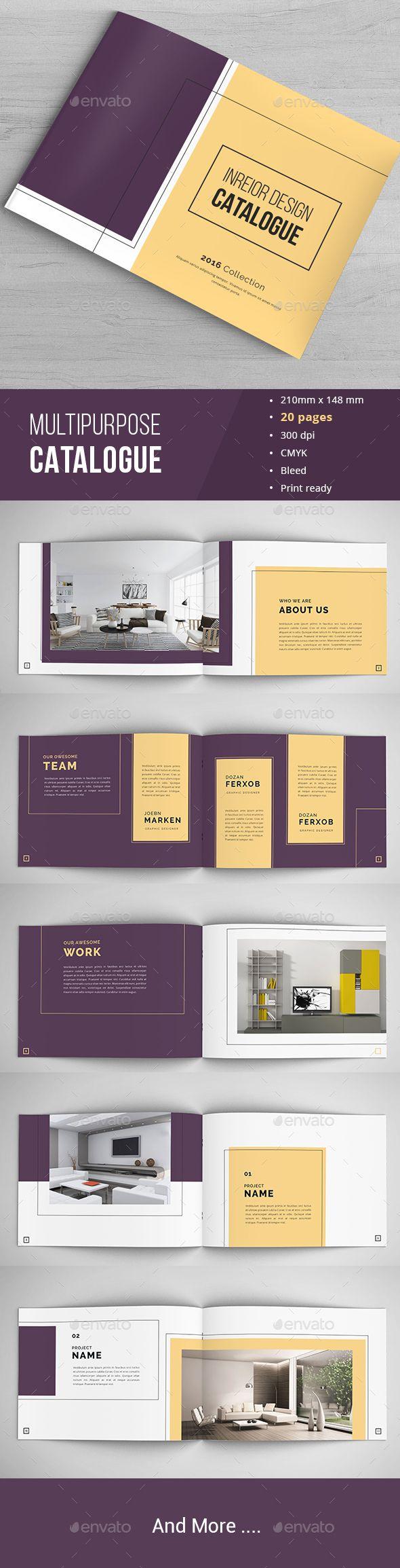Minimal Indesign Catalogue | Portafolio