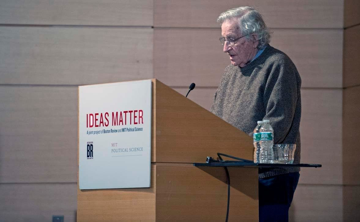 "Noam Chomsky, ""What is Anarchism?"" (2013) 39:00."