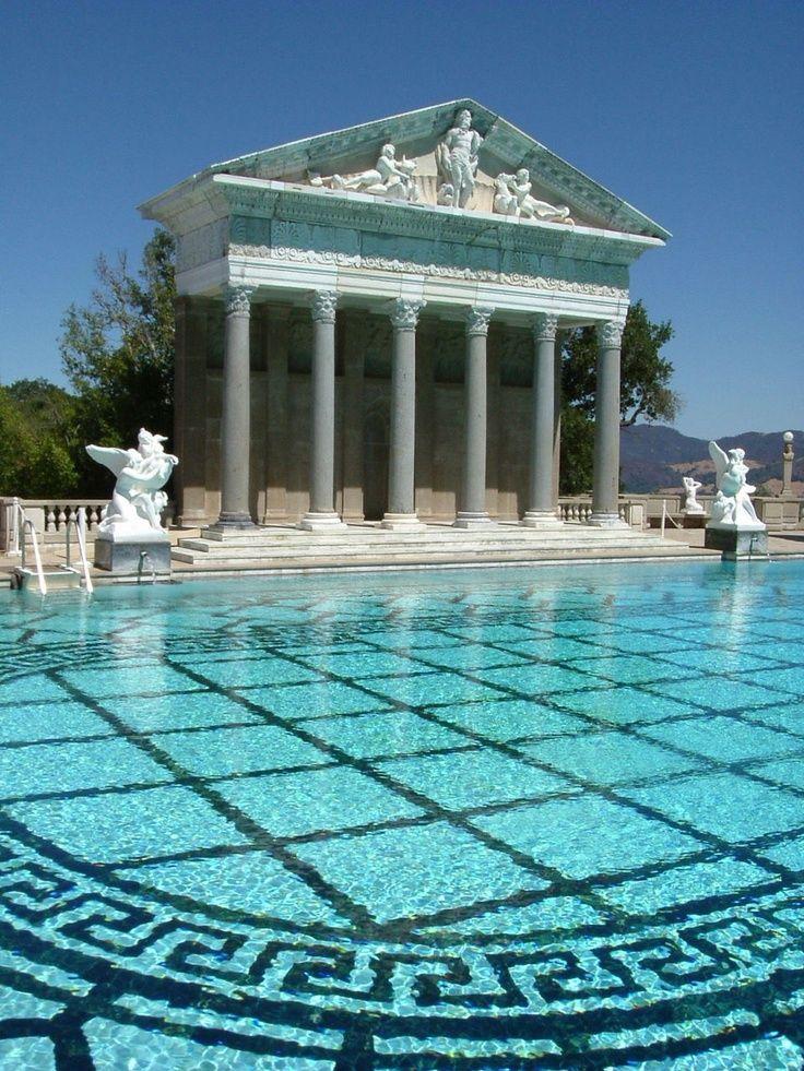 219Stile greco piscina