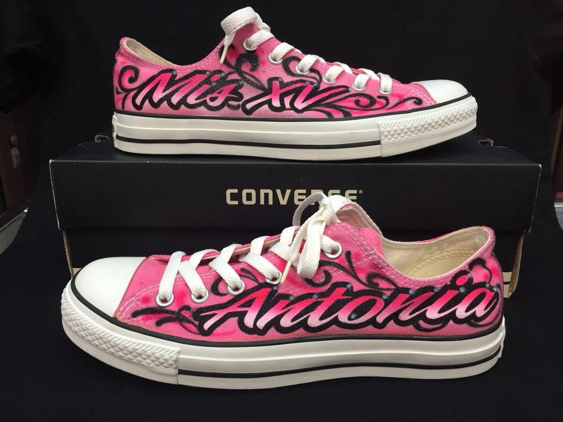 f5a6cb809634 Quinceanera Shoes Converse Quinceañera Shoes