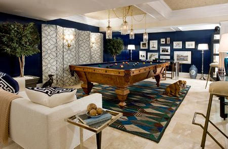 Decorating With A Pool Table  10 Cool Billiard Room Design Ideas Adorable Pool Table Living Room Design Review