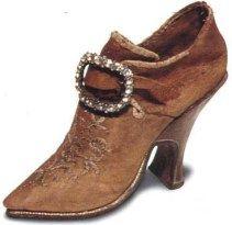 chaussures bal 18ème siècle femme noir