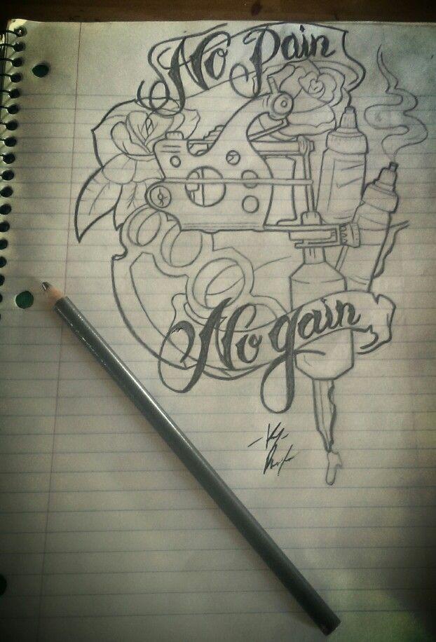 #tattoo #design #brass #knuckles | Tattoo Drawings ...
