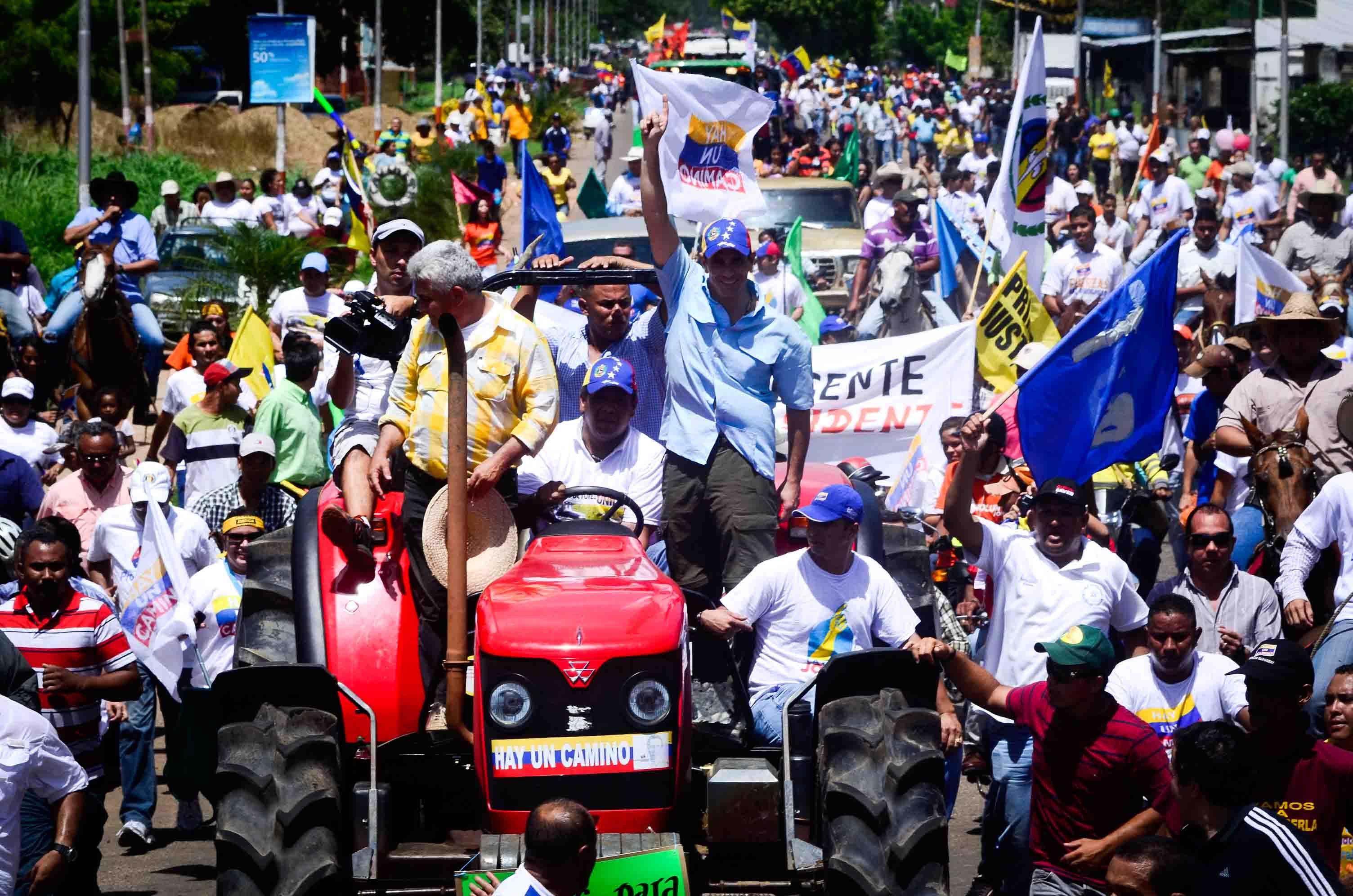 Guárico será una tierra de Progreso. Henrique Capriles