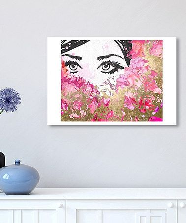 Another great find on #zulily! Smell the Flowers Print #zulilyfinds