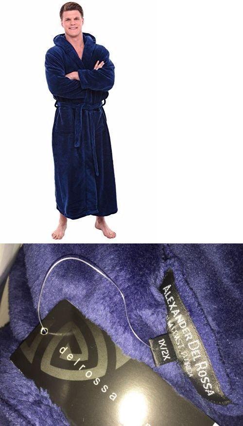 b1ee259136 Sleepwear and Robes 11510  Del Rossa Men S Fleece Robe