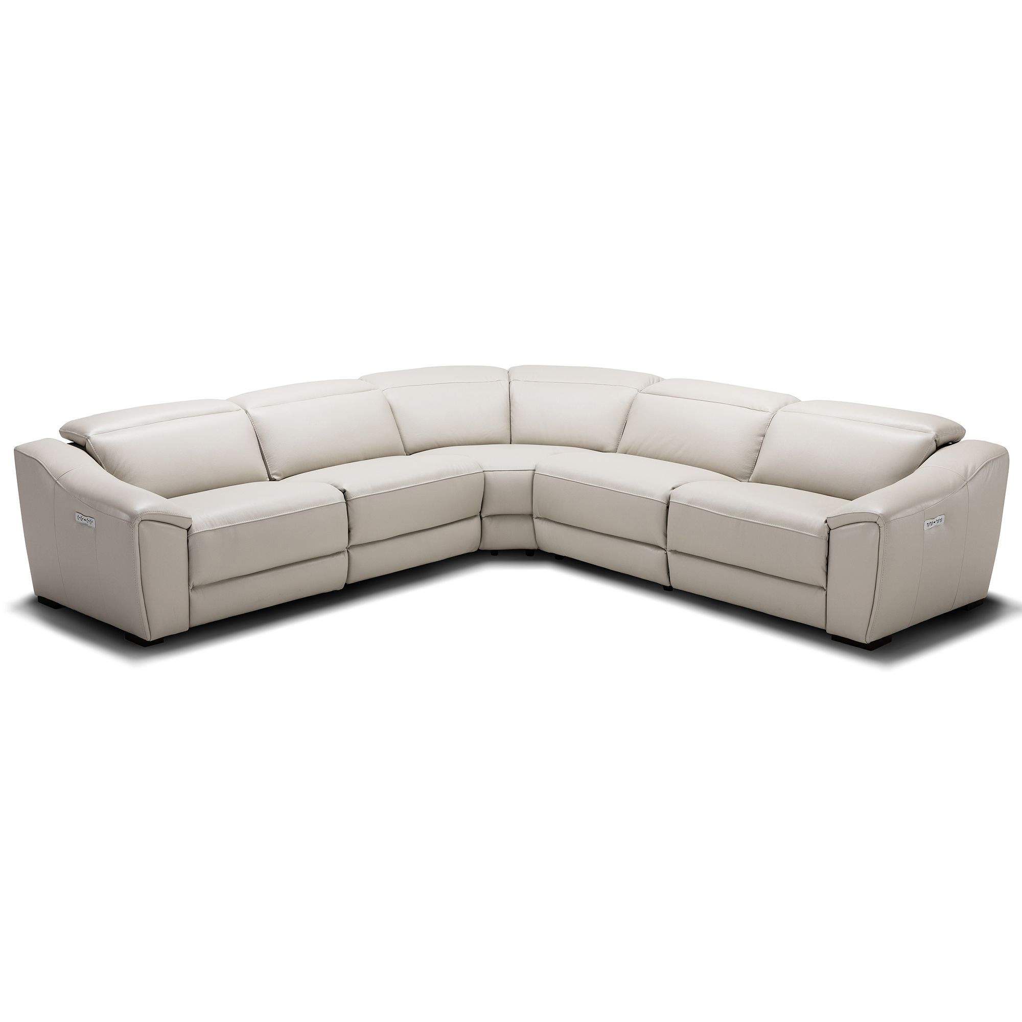 Astounding Jm Furniture Nova Motion Sectional Sofa Silver Grey Leather Pdpeps Interior Chair Design Pdpepsorg