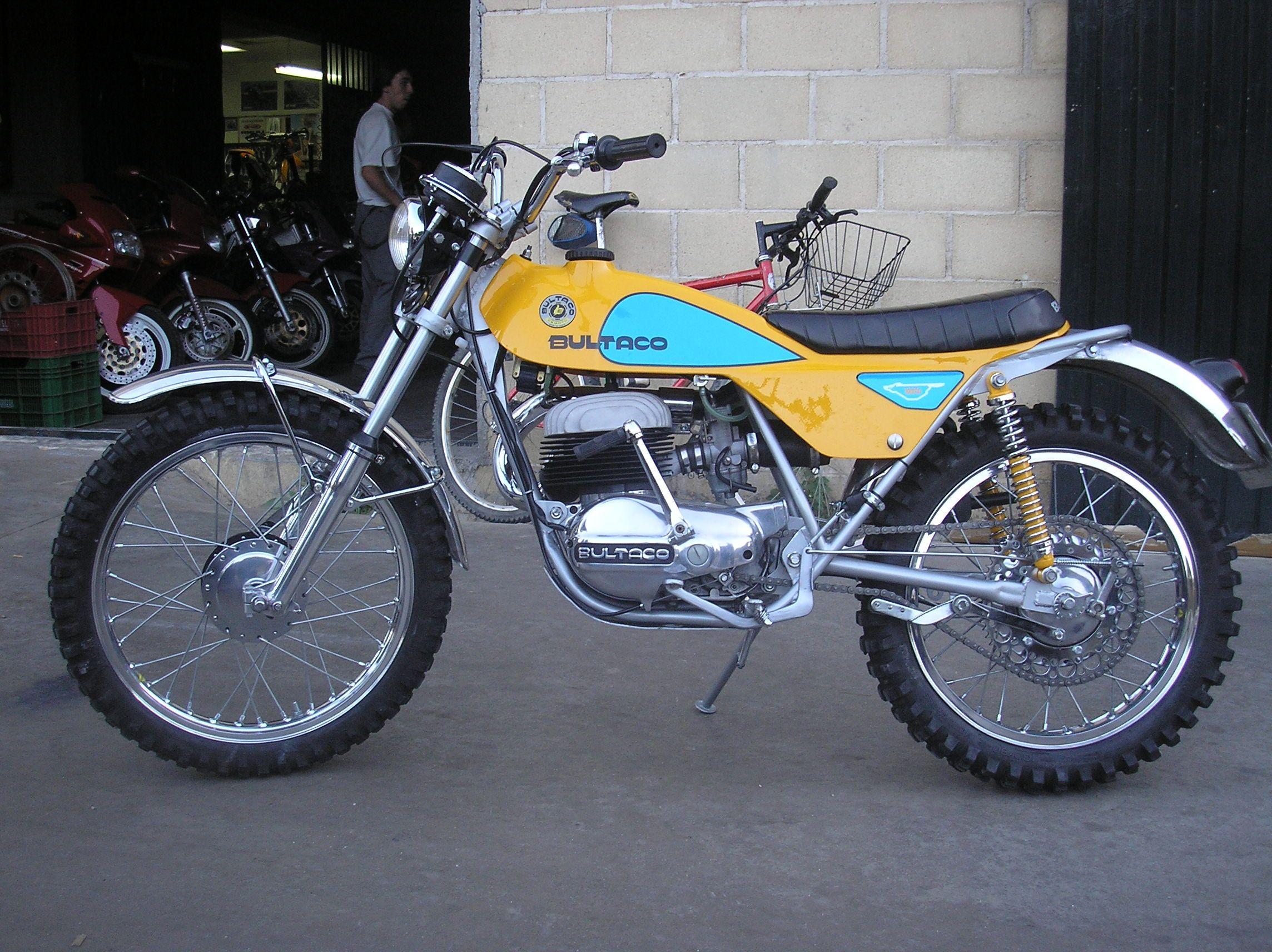Bultaco Lobito 125 Cc Motos Clasicas Motos Antiguas Motocicletas Antiguas