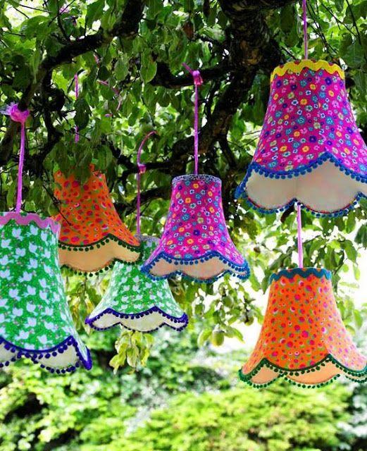 Veikeä idea rentoihin kesäkinkereihin. #koriste #juhlakoriste #juhla