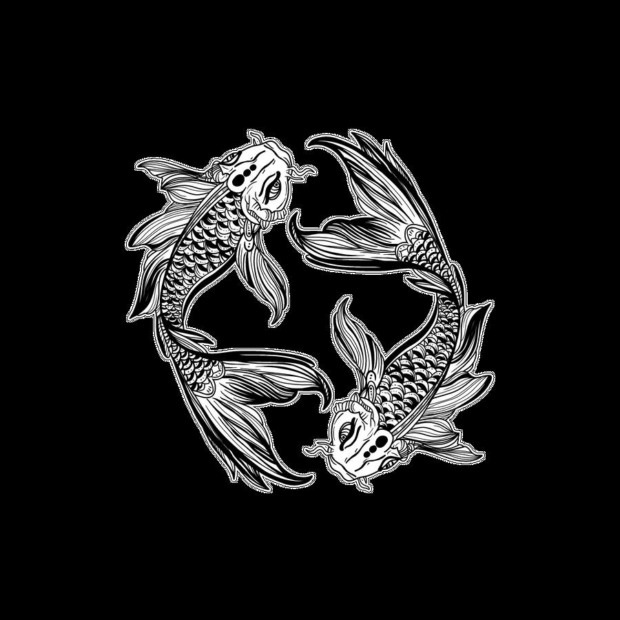 Koi Fish Art Print By Momcilobjekovic In 2020 Koi Tattoo Design Japanese Koi Fish Tattoo Koi Fish Tattoo