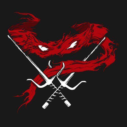 Red Wrath Shirtigo Teenage Ninja Turtles Teenage Mutant Ninja