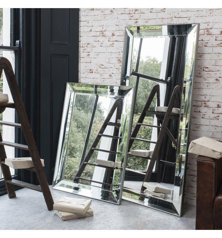Full Length Glass Framed Mirror 165 x 78cm | Mirror ...
