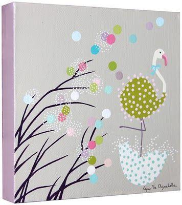 Camille Chincholle illustratrice faire-part de naissance | Illustration, Deco peinture et Peinture
