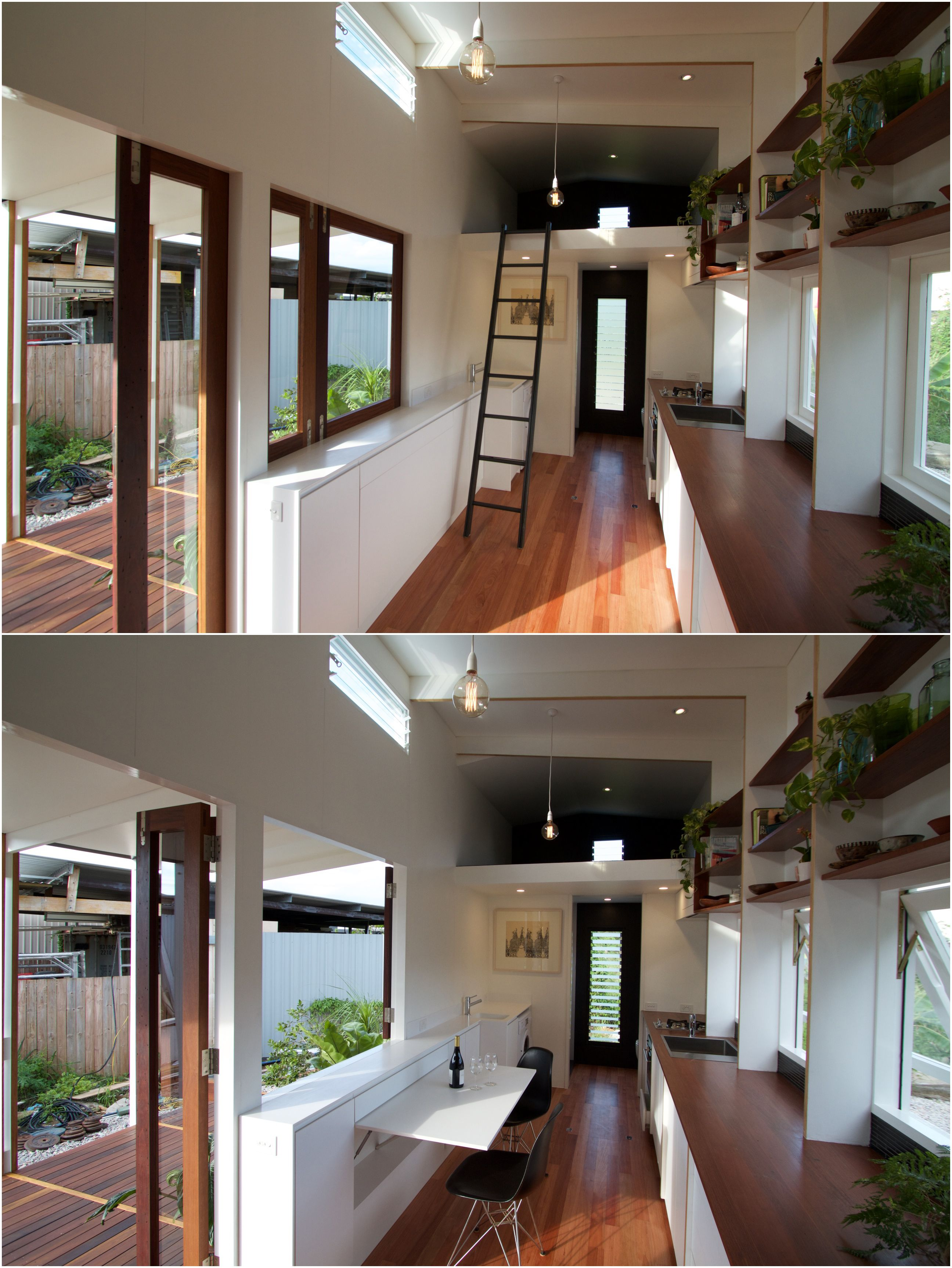 Tiny House On Wheels Designed And Built For A Subtropical Climate By