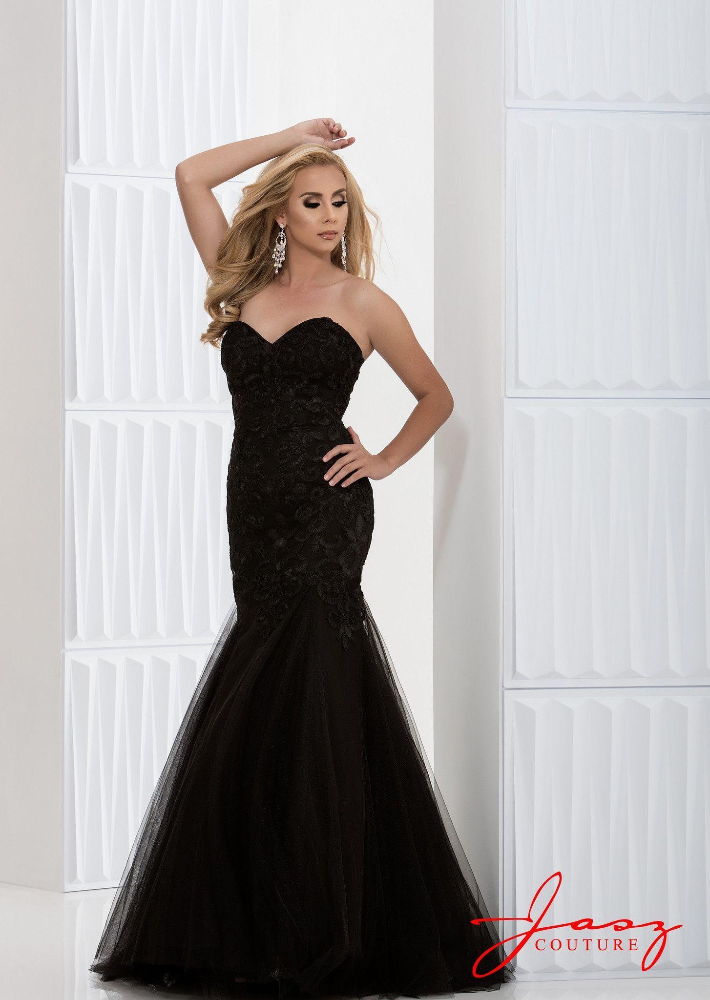 Jasz couture black formal pinterest couture pageants