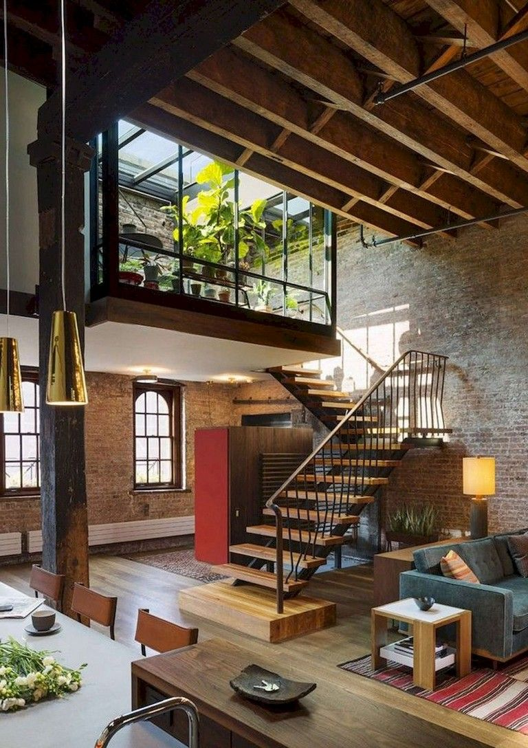 35+ Beautiful Loft Space to Make Your Apartment Feel Bigger