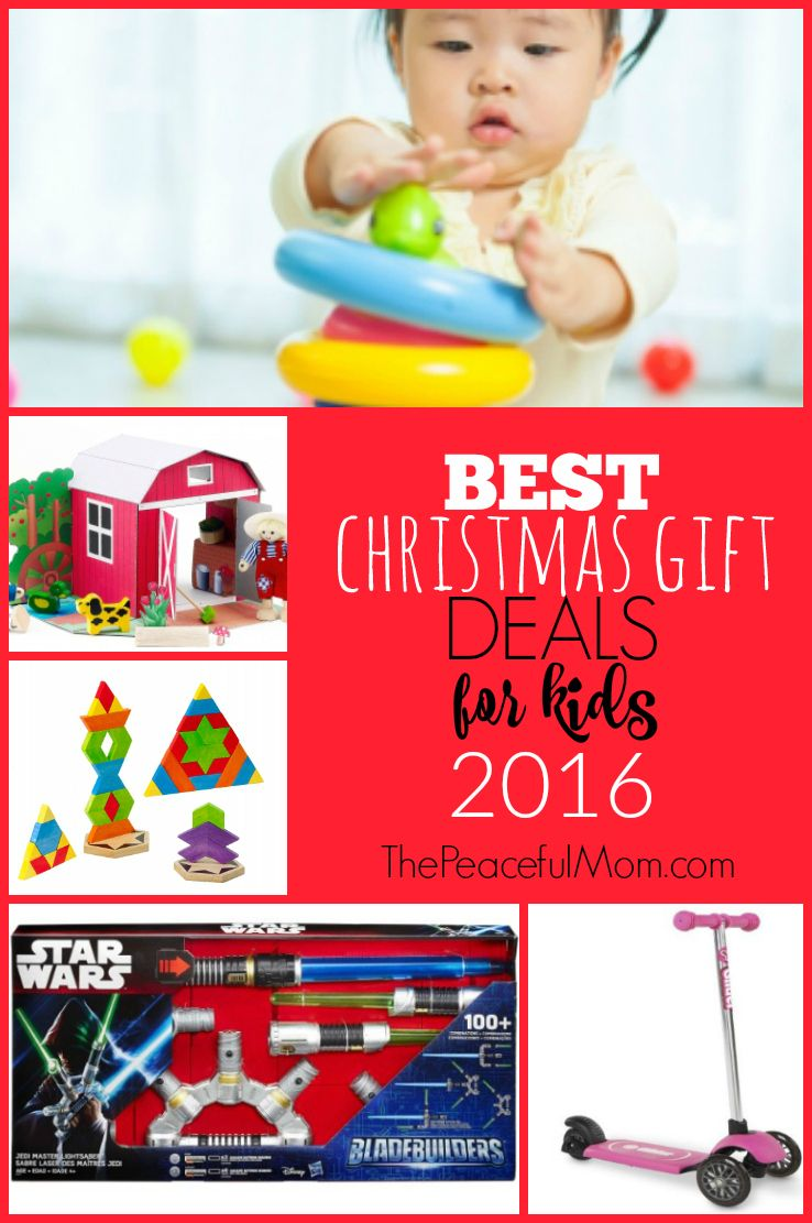 You want to make your kids happy, but you also have to stick to a budget. I get it - that's why I'm sharing the best toy and gift deals for kids. Pin this page and check back regularly. -- from ThePeacefulMom.com