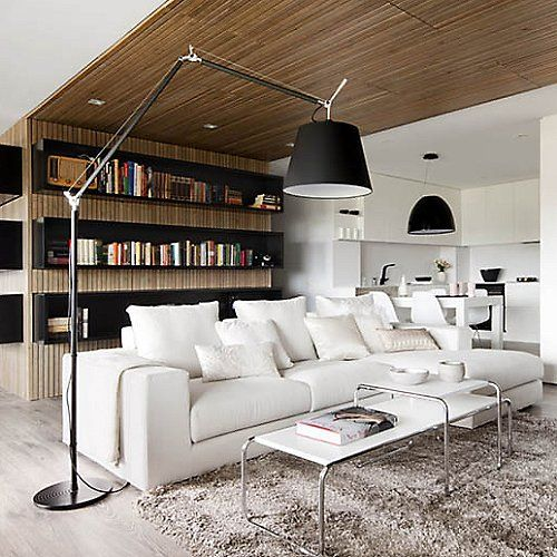 Tolomeo Mega Black Floor Lamp By Artemide At Lumens Com Floor
