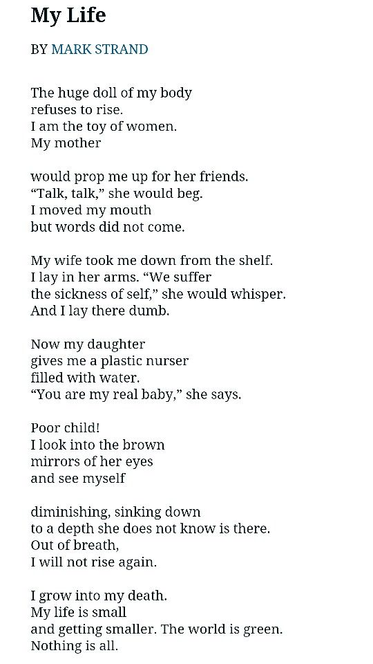 this is my life poem