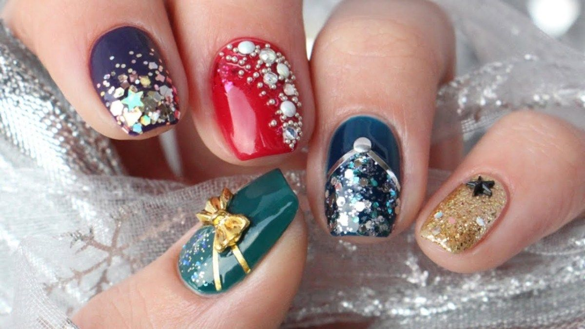 5 New Year rsquo s Eve Nail Art Design Ideas