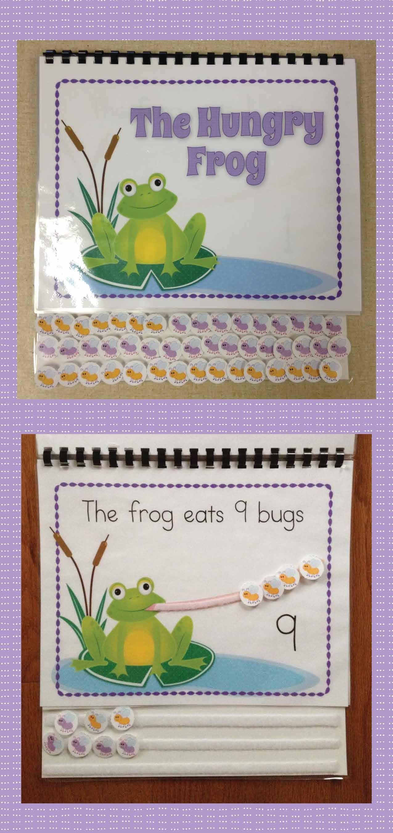 Frog Math Activity Interactive Counting Book For