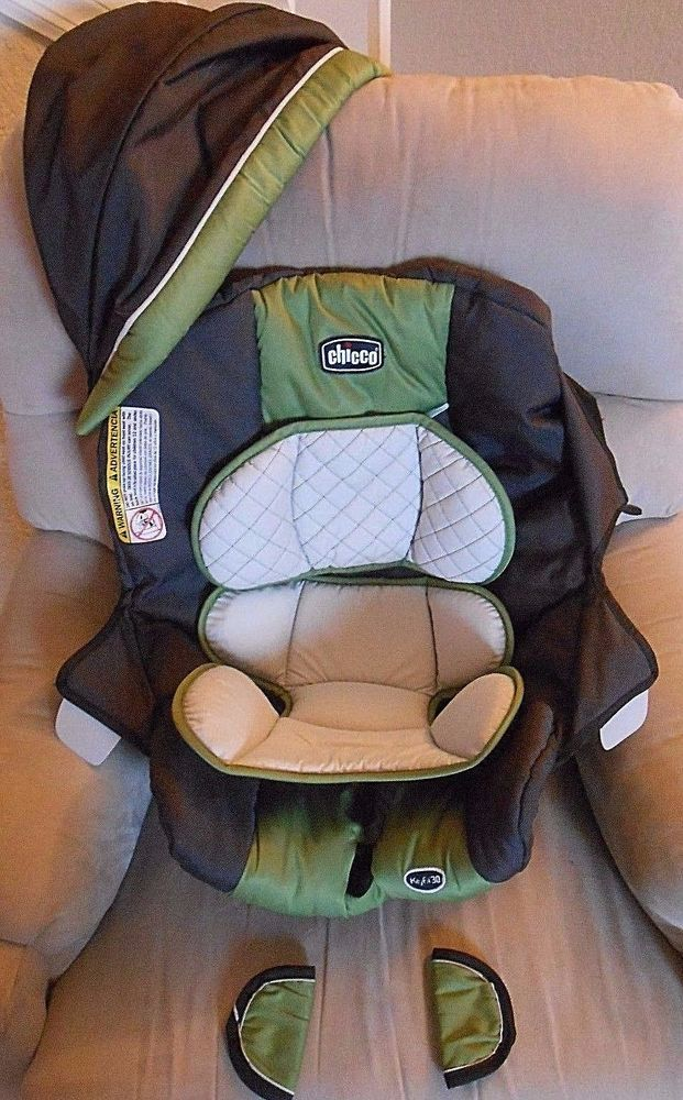 chicco keyfit 30 - Infant Car Seat Cover Only- Dark gray and green ...