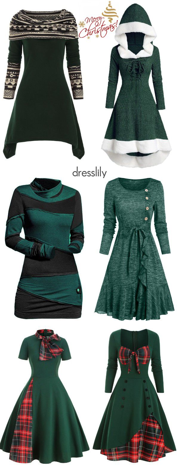 Christmas Dress for Adults | Christmas Themed Outfits