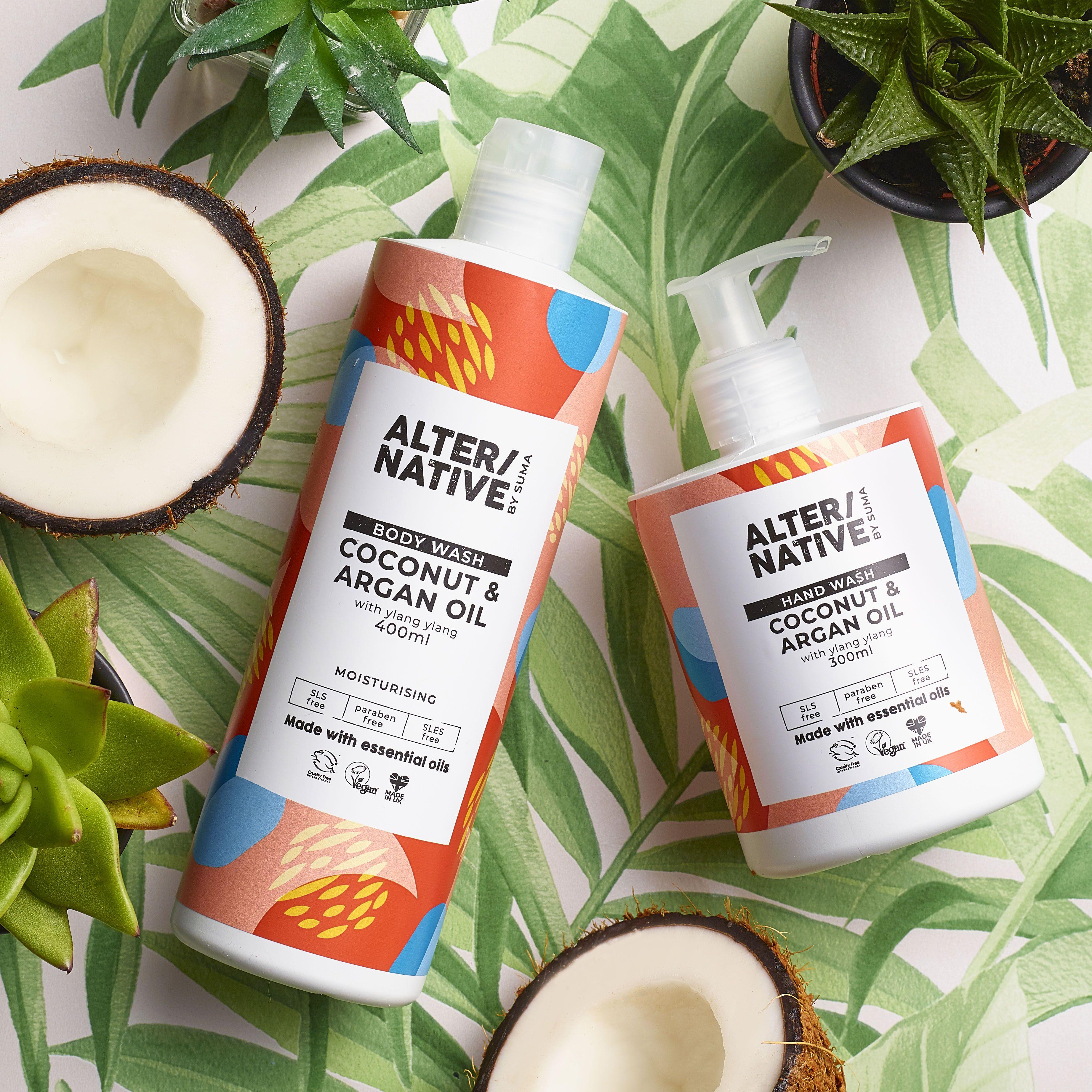 Coconut Argan Oil Oil Body Wash Free Essential Oils Argan Oil Body Wash