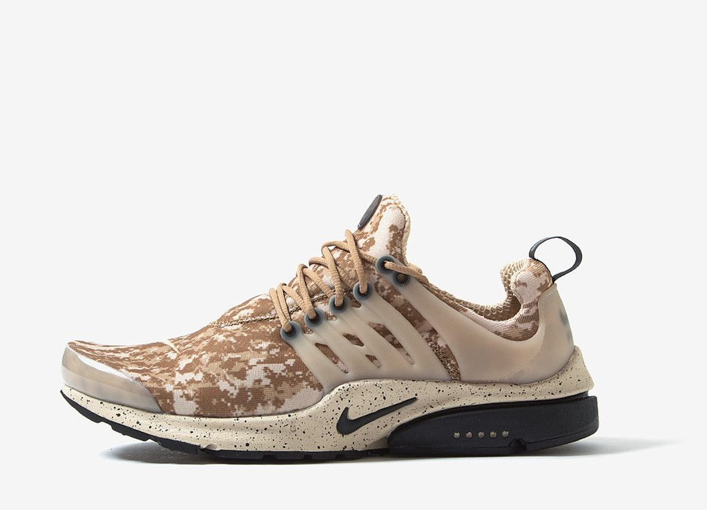 152a43158717 Nike Air Presto GPX Khaki Digi Camo Shoes - Golden Beige Black ...
