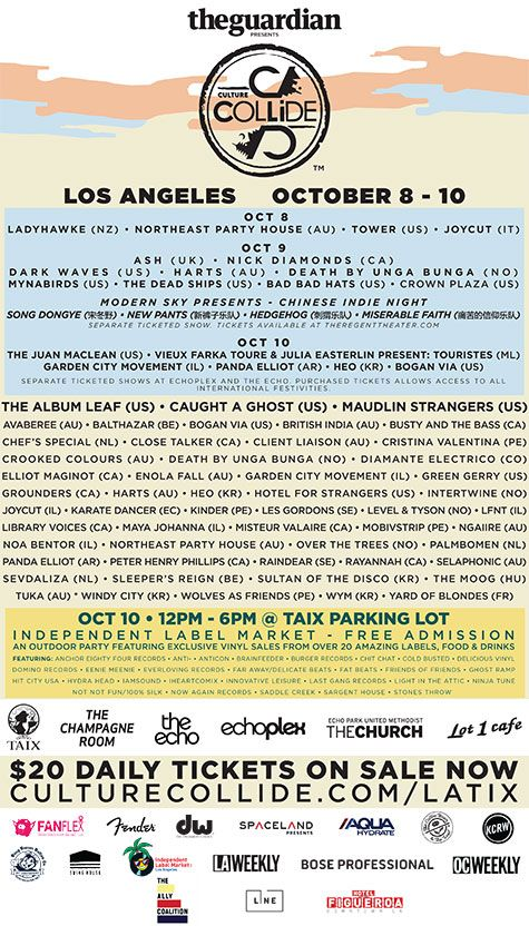 10/8-10/15  LA Tickets : Festivals : Culture Collide