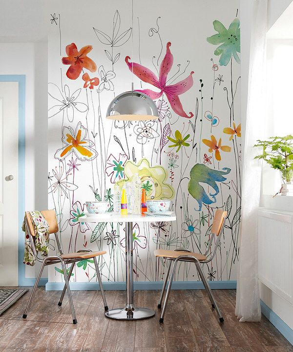 Look at this Brewster Home Fashions Joli Wall Mural on #zulily today!