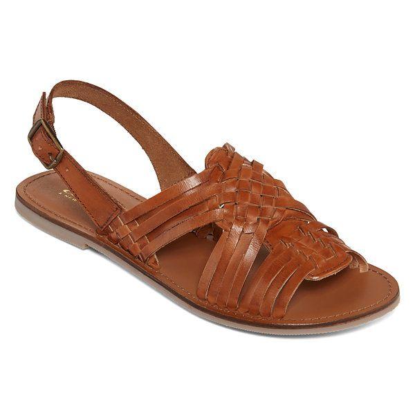 4d32eec72541 a.n.a® Akina Woven Sling Flat Sandals - JCPenney